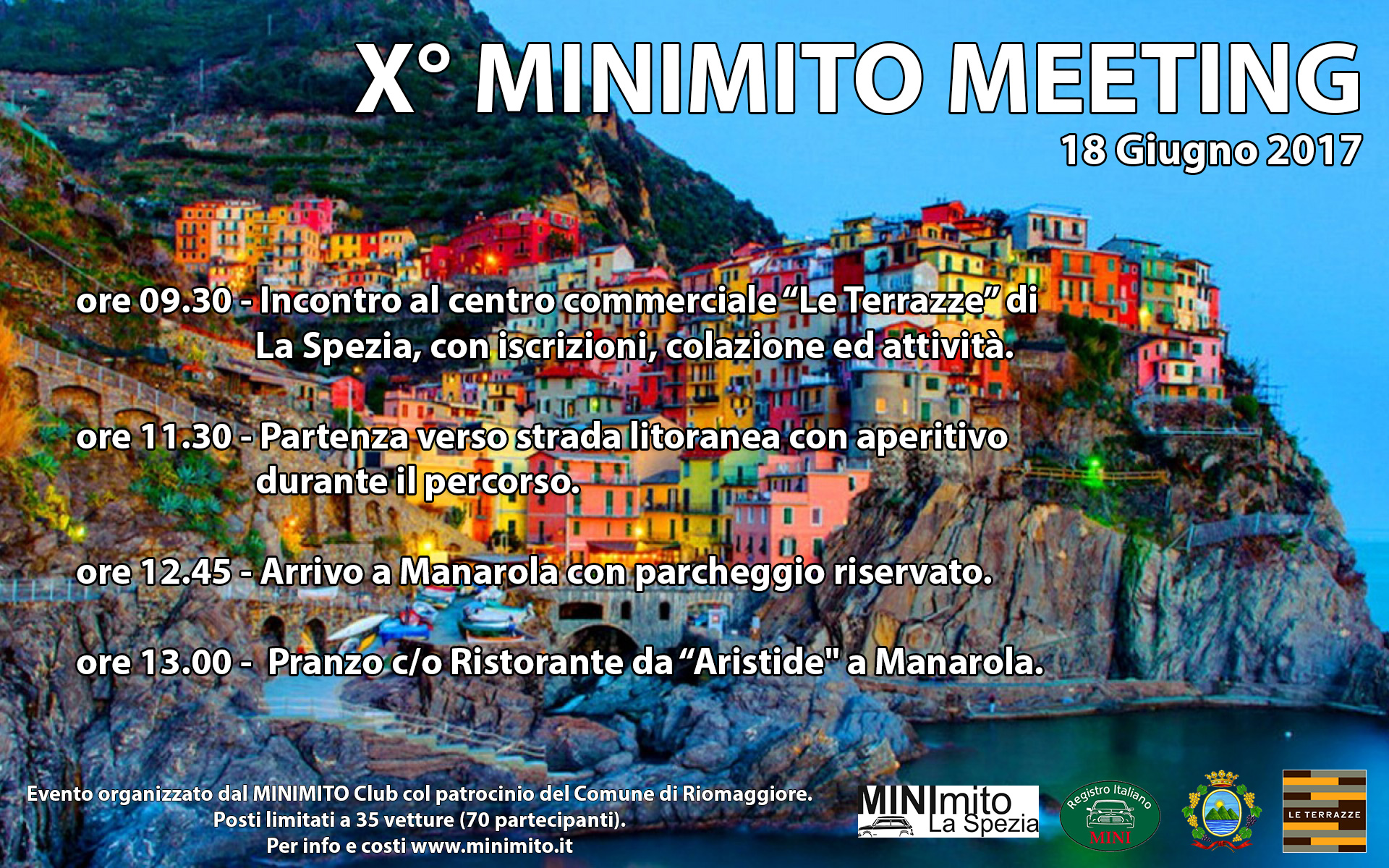 X° MINIMITO Meeting – Save the date 18 Giugno 2017! | MINImito Club ...